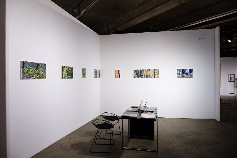 Overview solo booth at BAD, art fair Ghent 2018